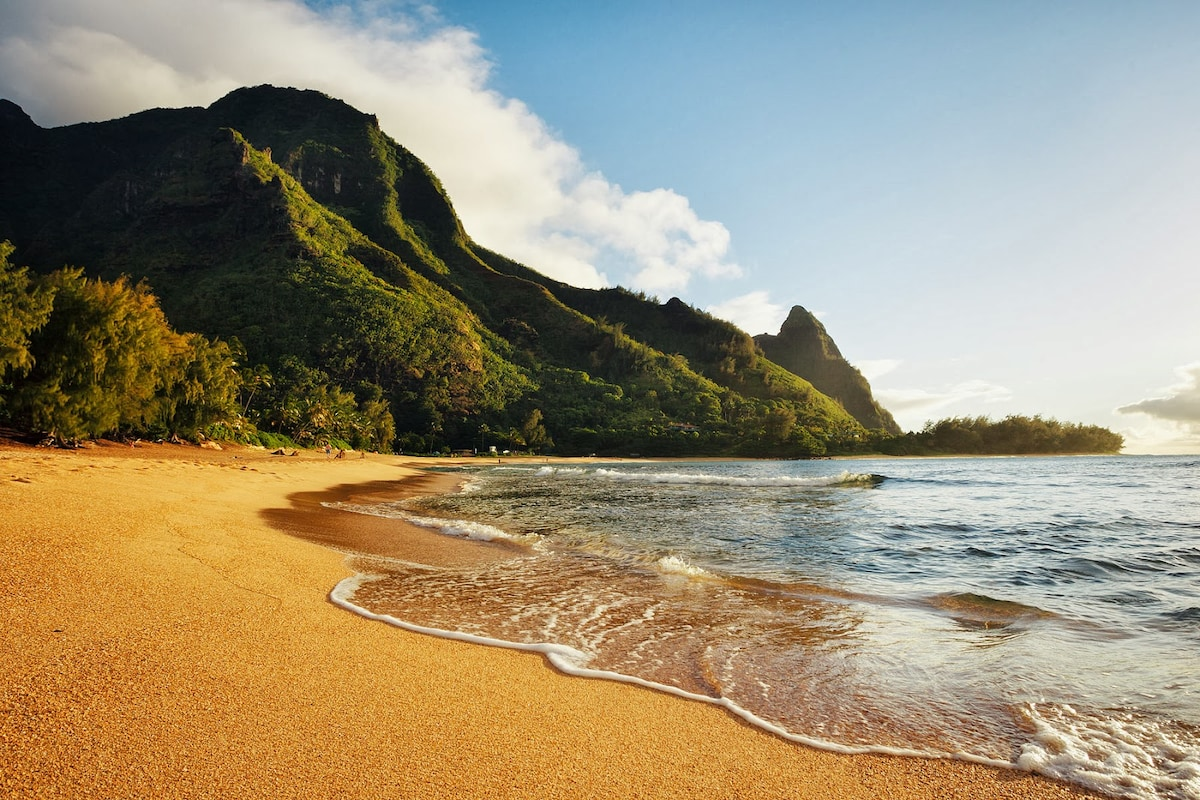 Backpacker Hawaii: Haena Beach