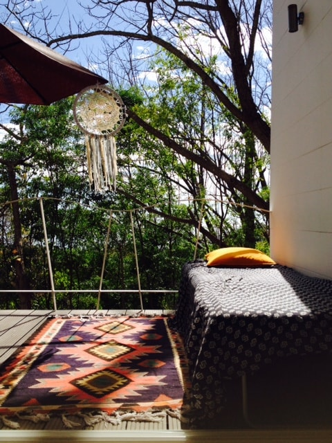 dream away on the main balcony, and see the monkeys passing by