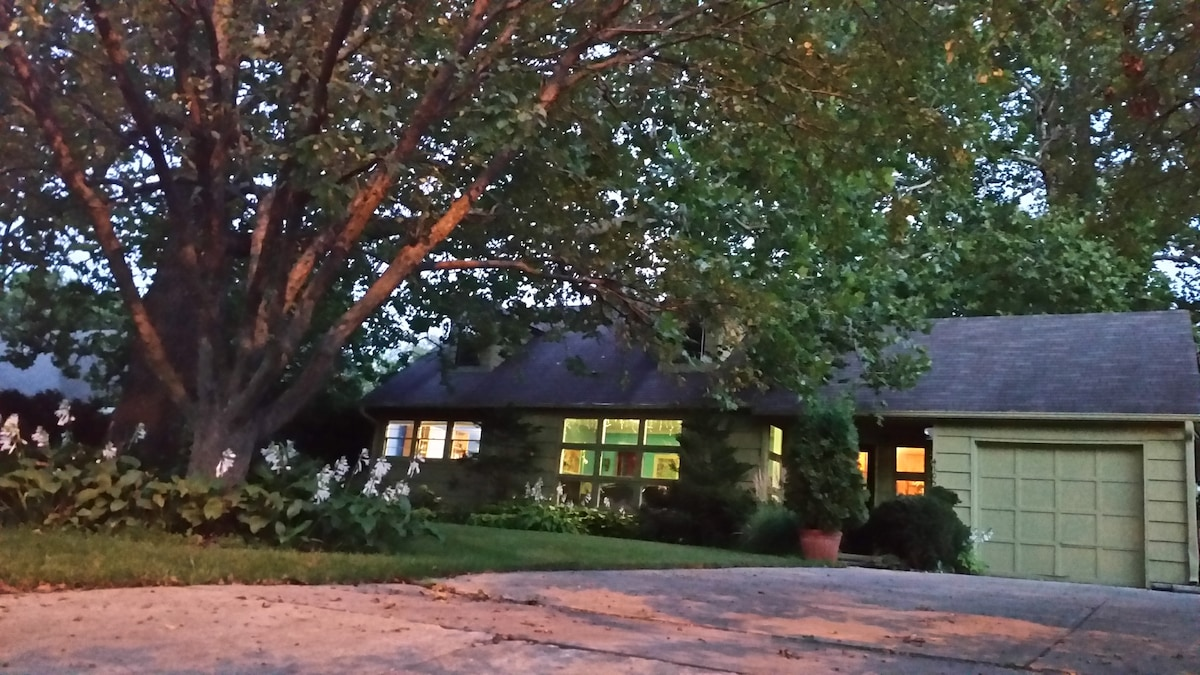 Garden House Near Downtown/Wakonda