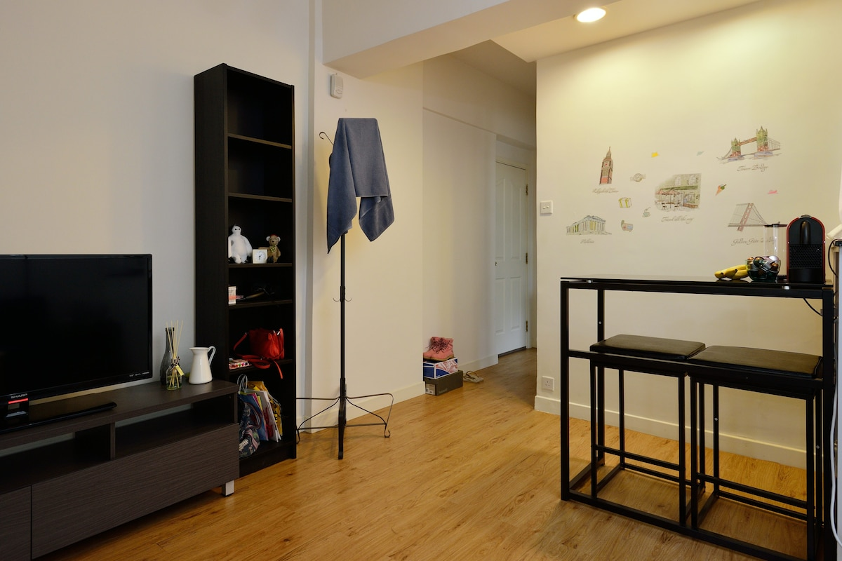 Cozy & lovely flat, 2 mins to MTR