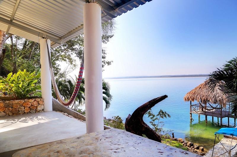 Near Tikal, 3B house,private beach