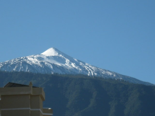 Teide view in a clear day