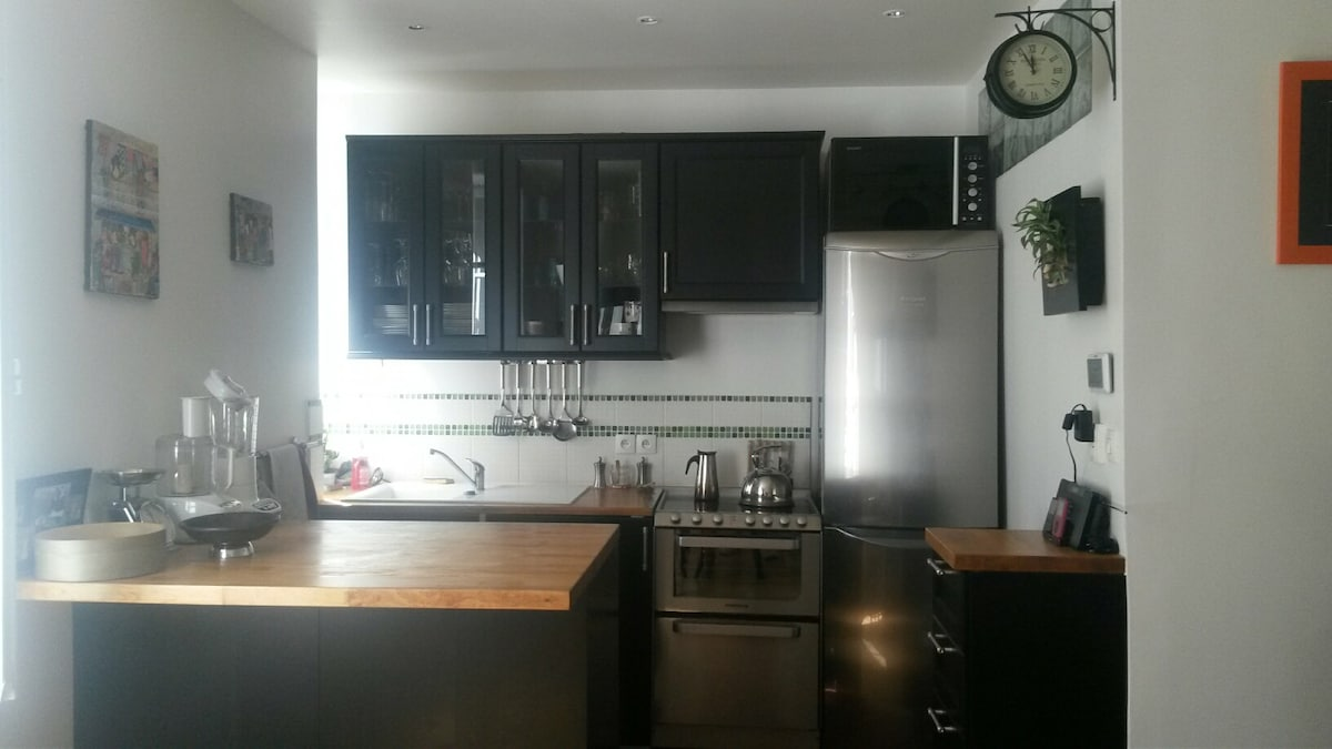 Appartement avec jardin & Terrasse