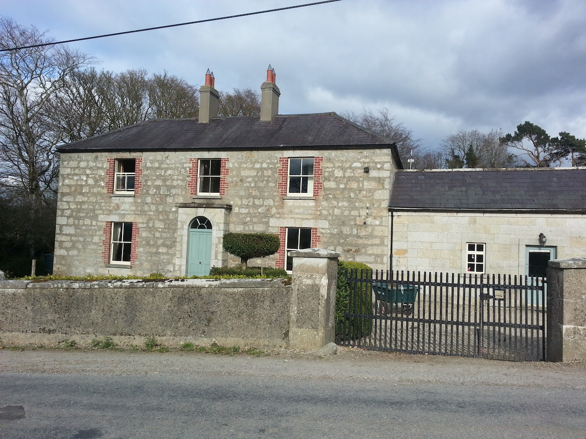 Period farm house on small holding