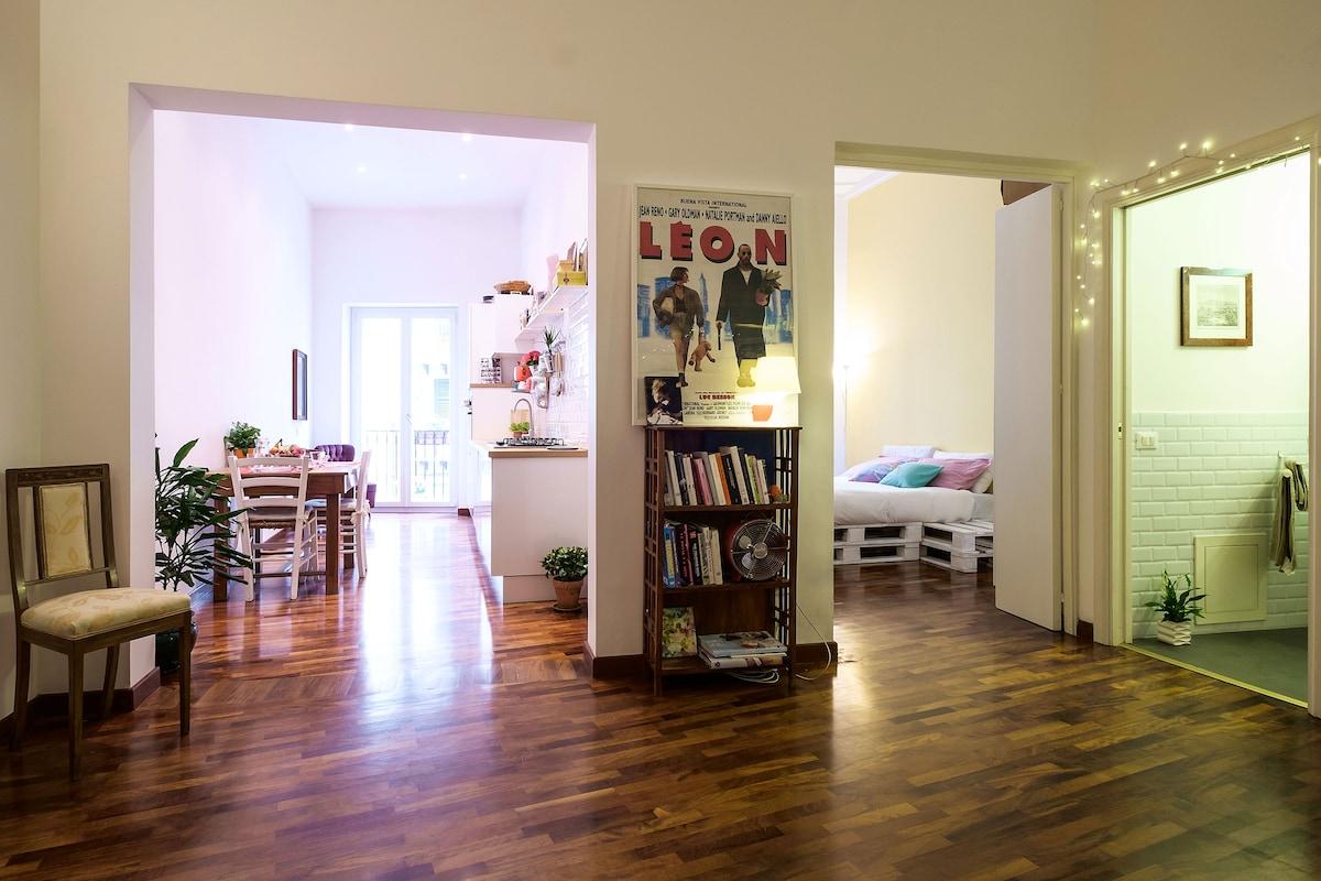 Cozy and magic apartment in center
