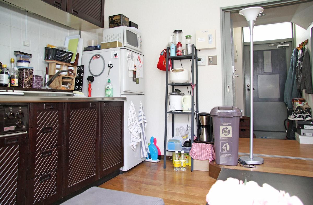 Cozy Roppongi Apartment on 2 floors