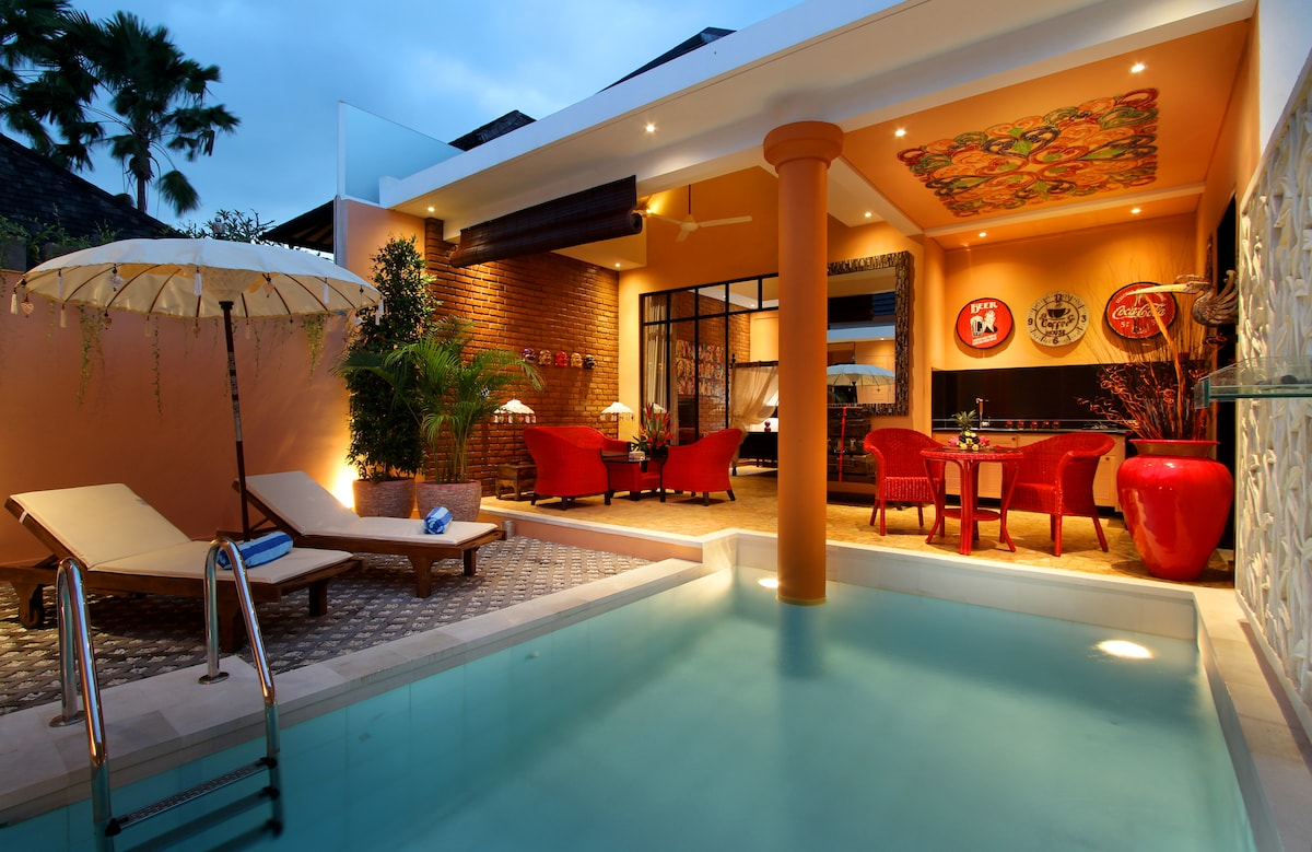 Cozy villa 500m from Seminyak beach