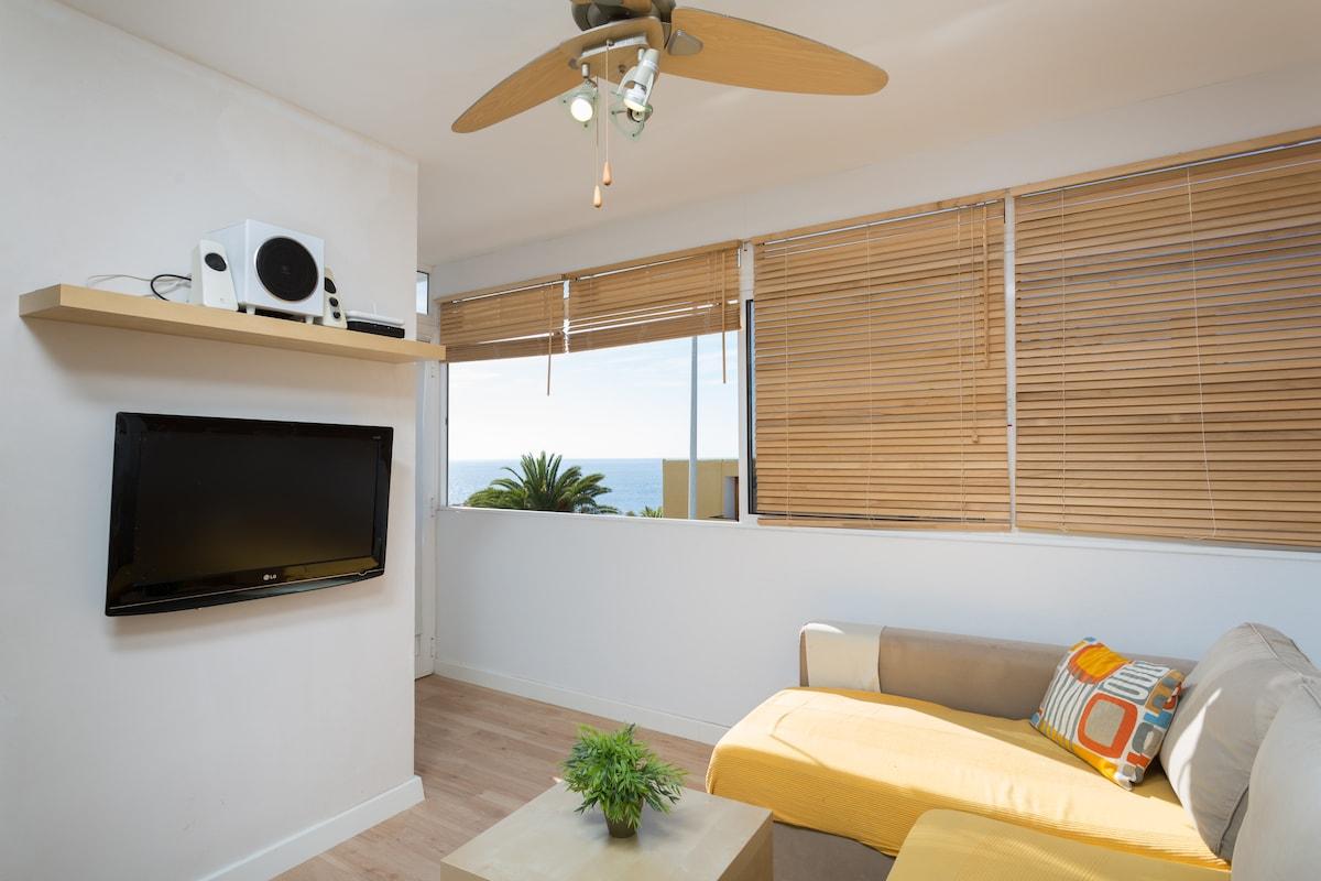 Apartamento en playa de la arena