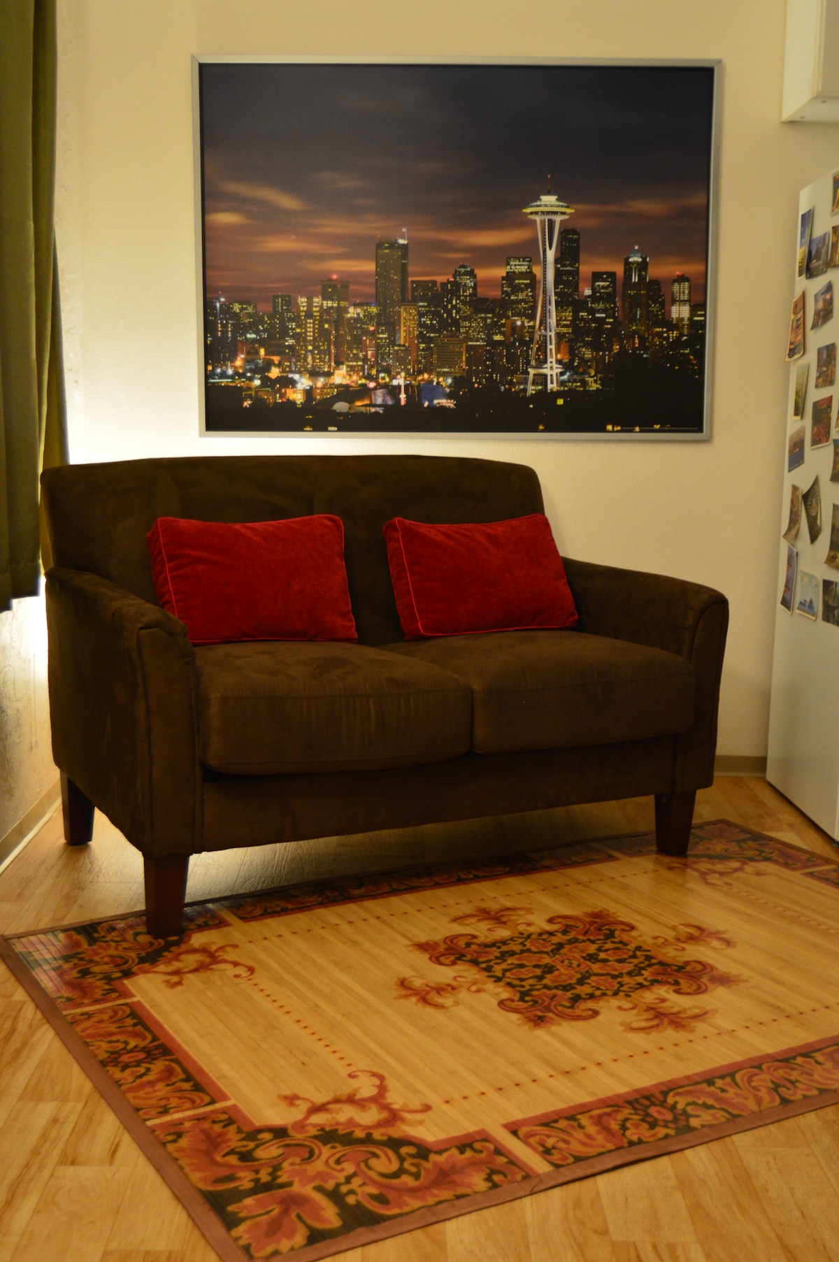 New couch, living room