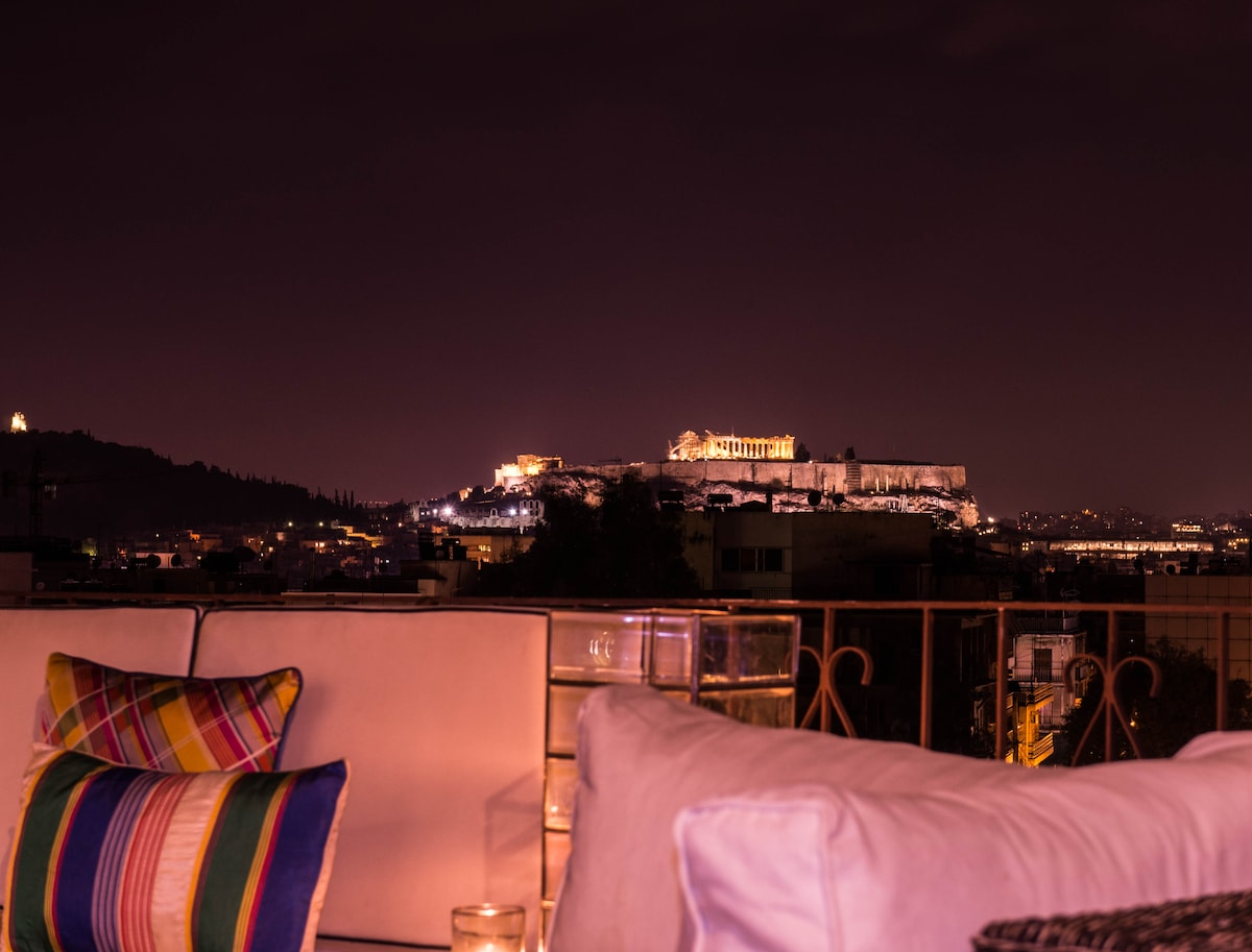 Top-floor 99 sq.with Acropolis View