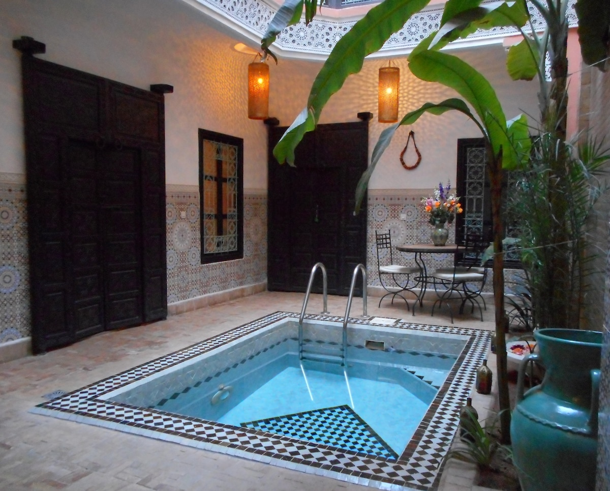 Riad of charm in Marrakech