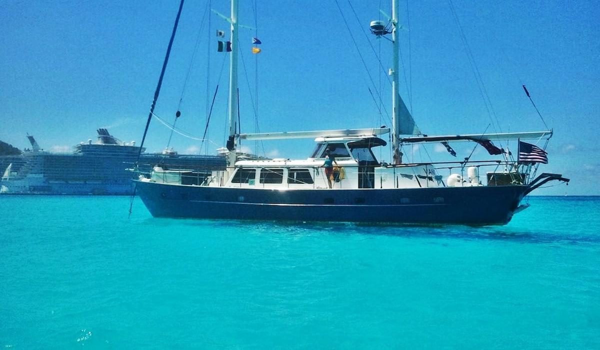 AMAZING CRUISE on Sailing Yacht SV