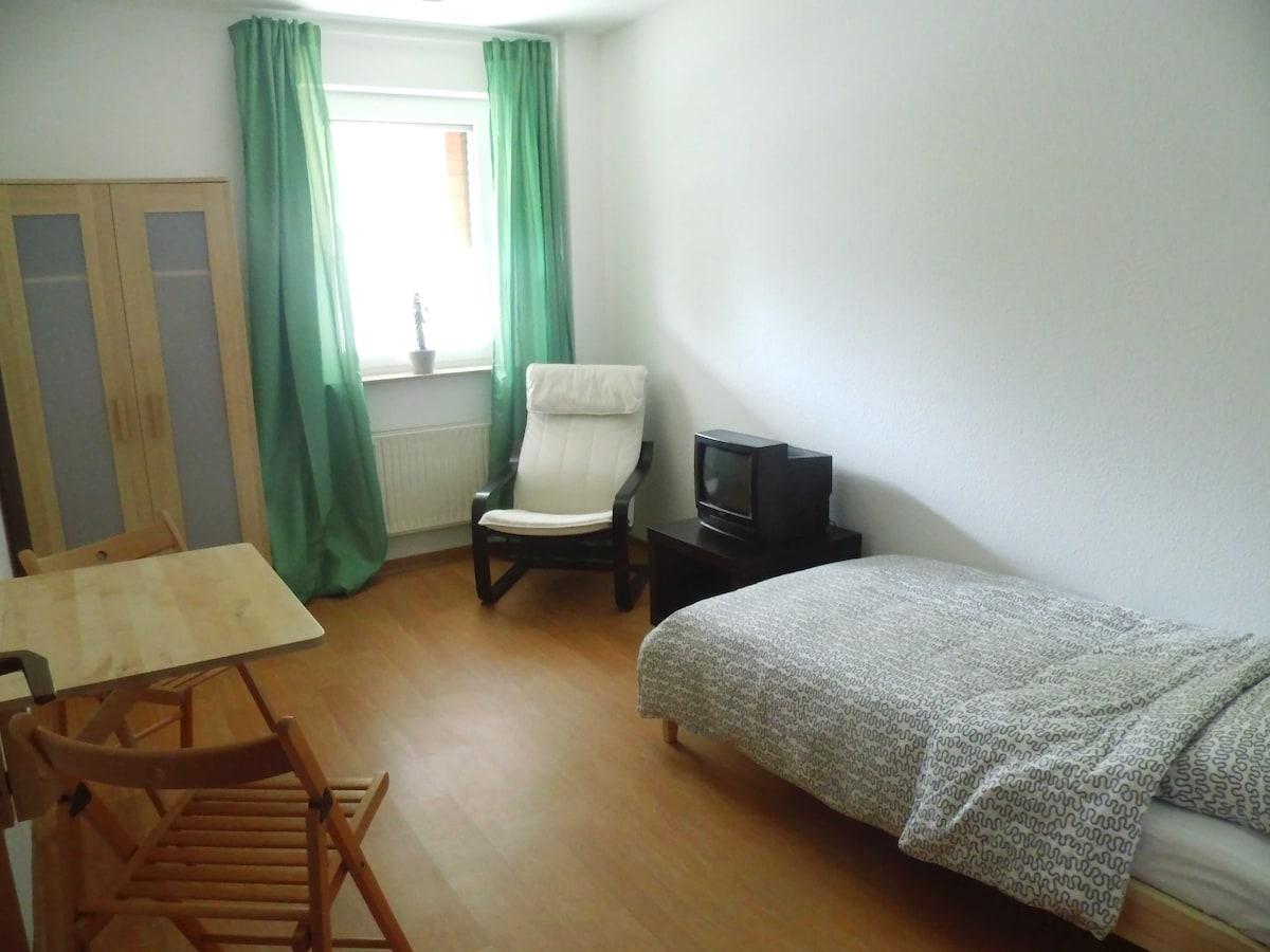 Kleines zentrumsnahes Zimmer