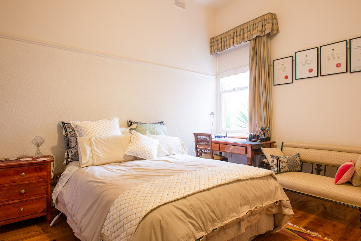 Fitzroy/Clifton Hill-Double Bedroom