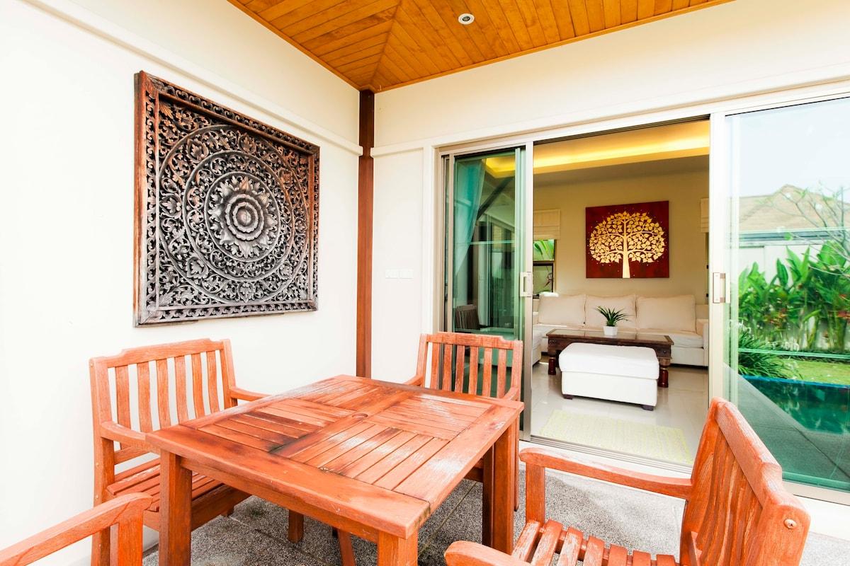3 Bedroom Pool Villa, Nai Harn