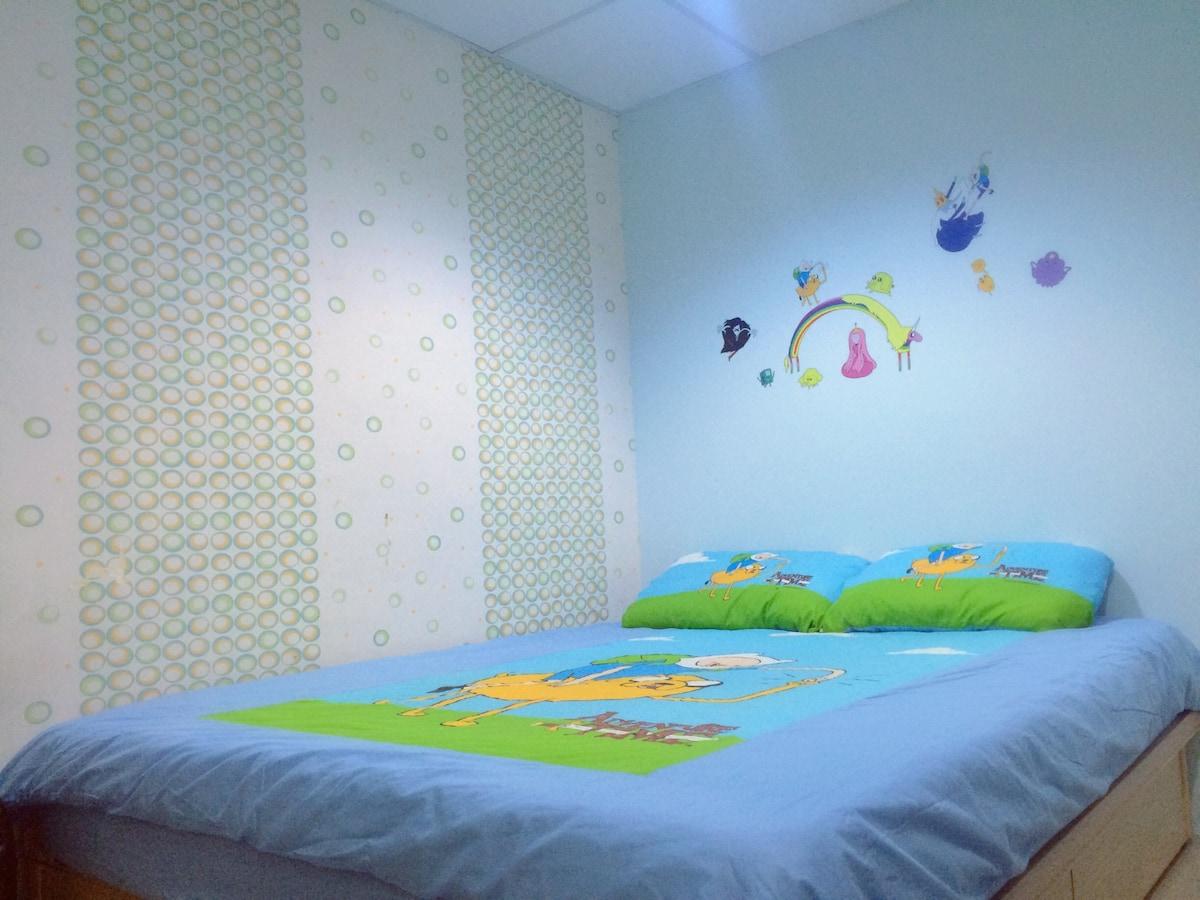 Adventure time house(捷運南京三民站步行7分鐘)