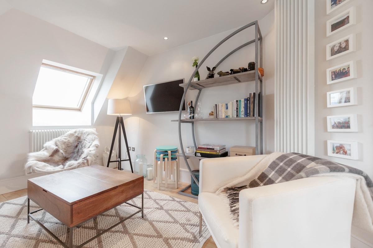 Scandinavian style loft apartment