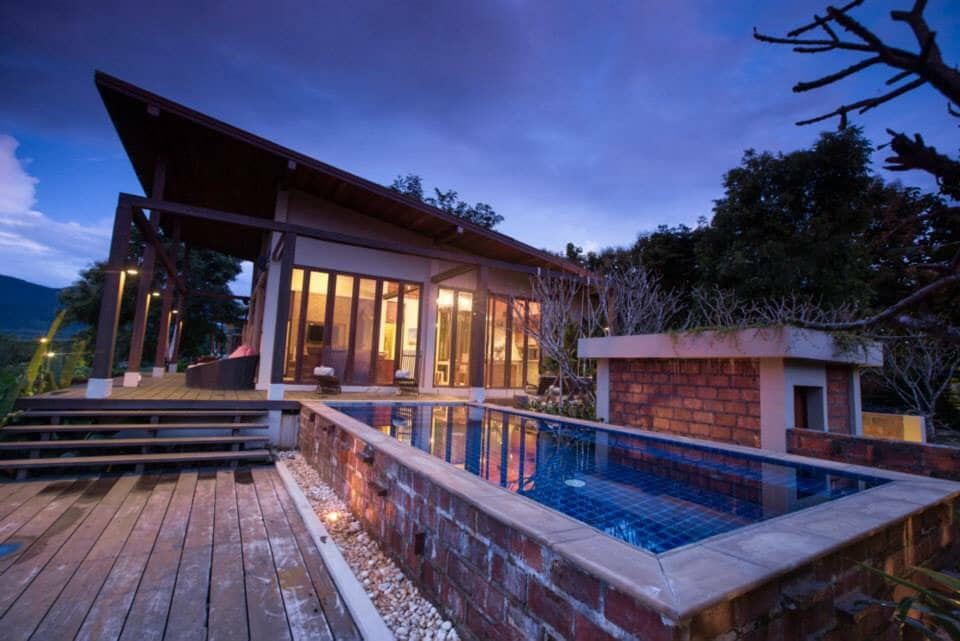 The Panoramic view 2BR pool Villa.