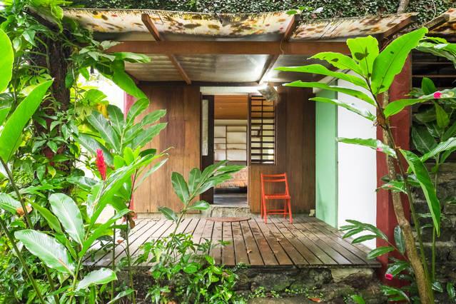 Independent bedroom in nature
