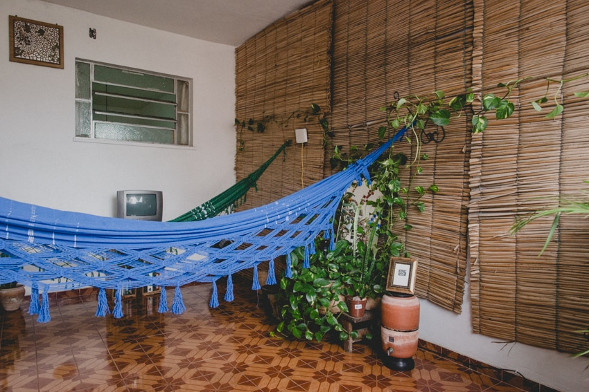 Here is our hammock room. It's really breezy and great for relaxing, reading, working on the computer, etc. More pictures as you scroll through!