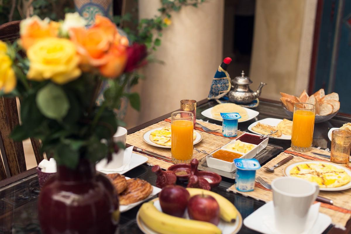 Chambre Sultana à Riad Lorsya