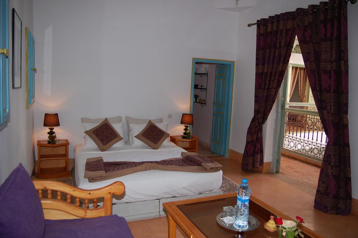 Riad Agathe Suite de luxe Majorelle
