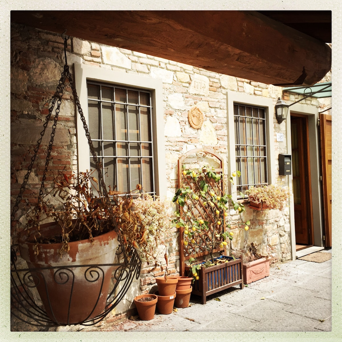 Cosy Lucca house, terrace, parking