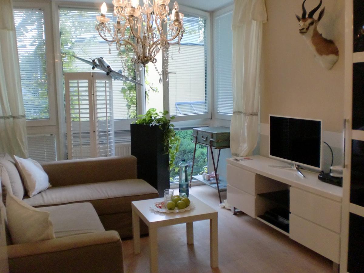 17 m² m. Garten, Dachterr.benützung