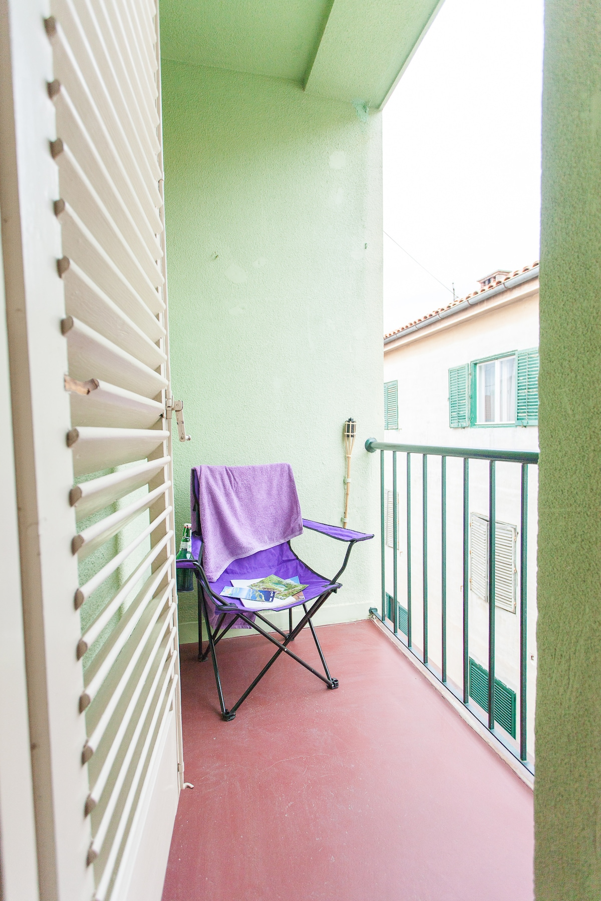 Smaller balcony