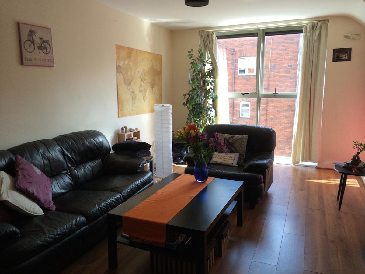 Central & cozy 1-bedroom apt