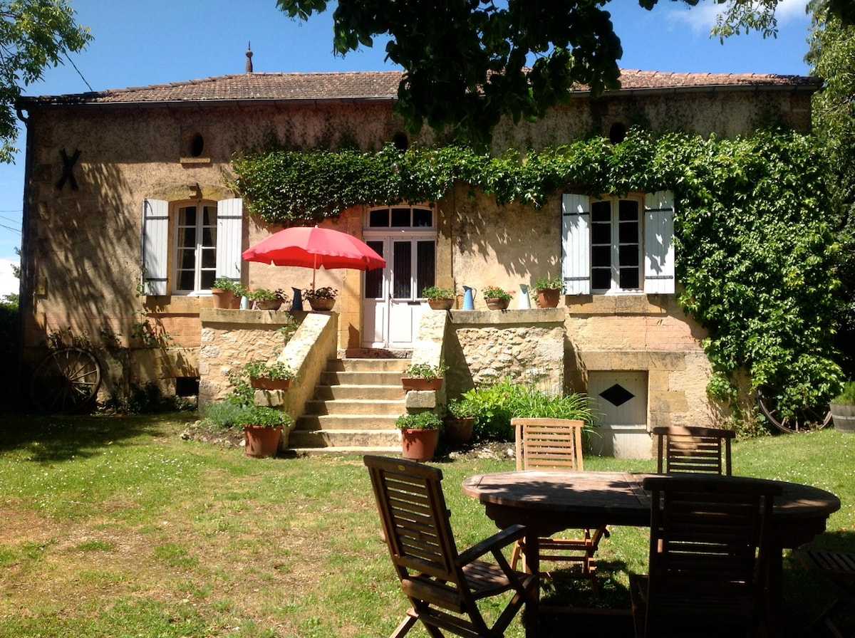 Sfeervol landhuisje in de Dordogne