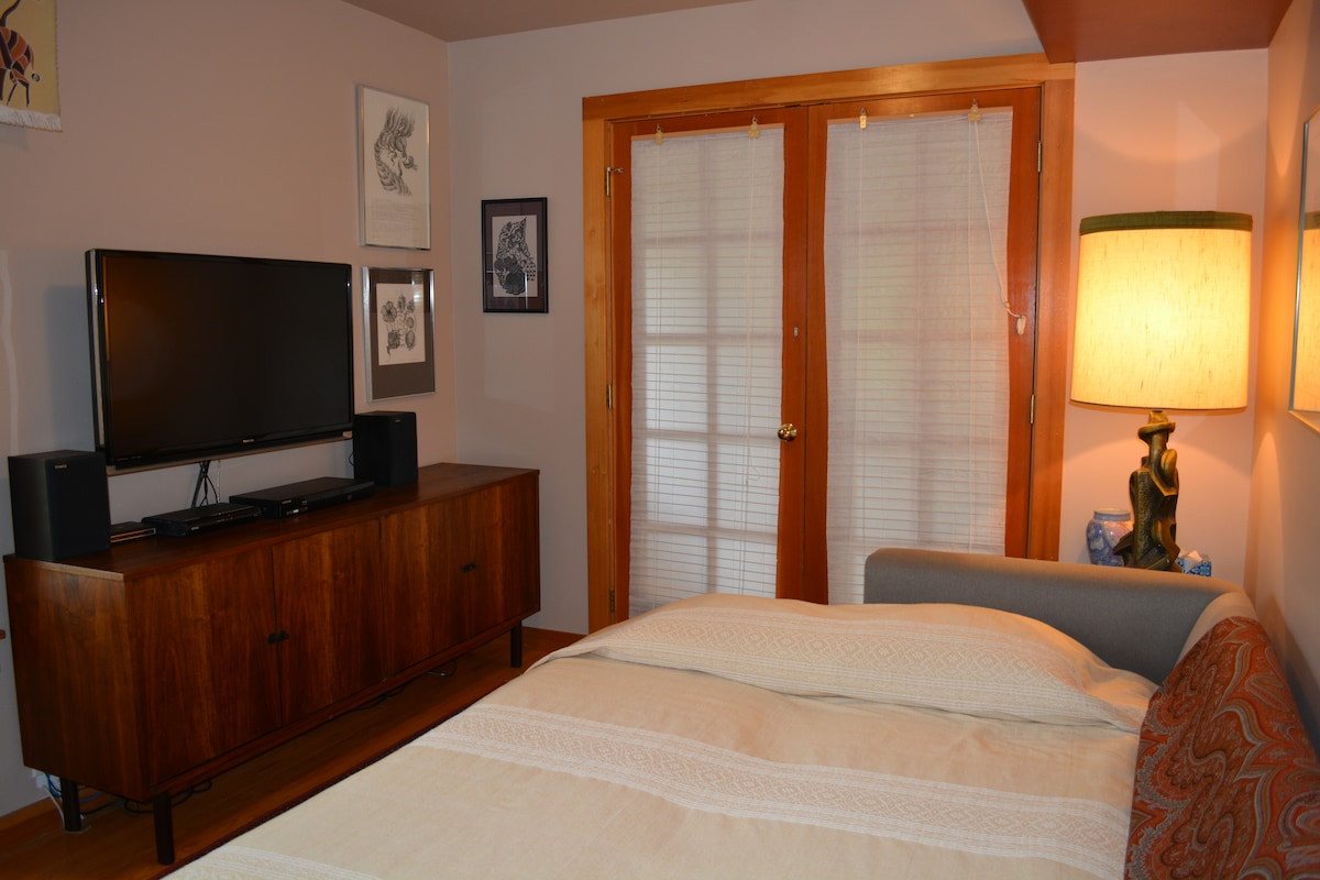 Private room in a cohousing home