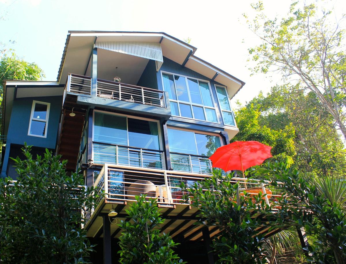 Contemporary Riverside Cottage