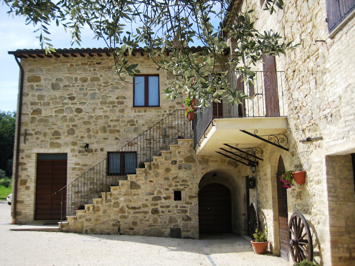 Luxury Appartment near Assisi