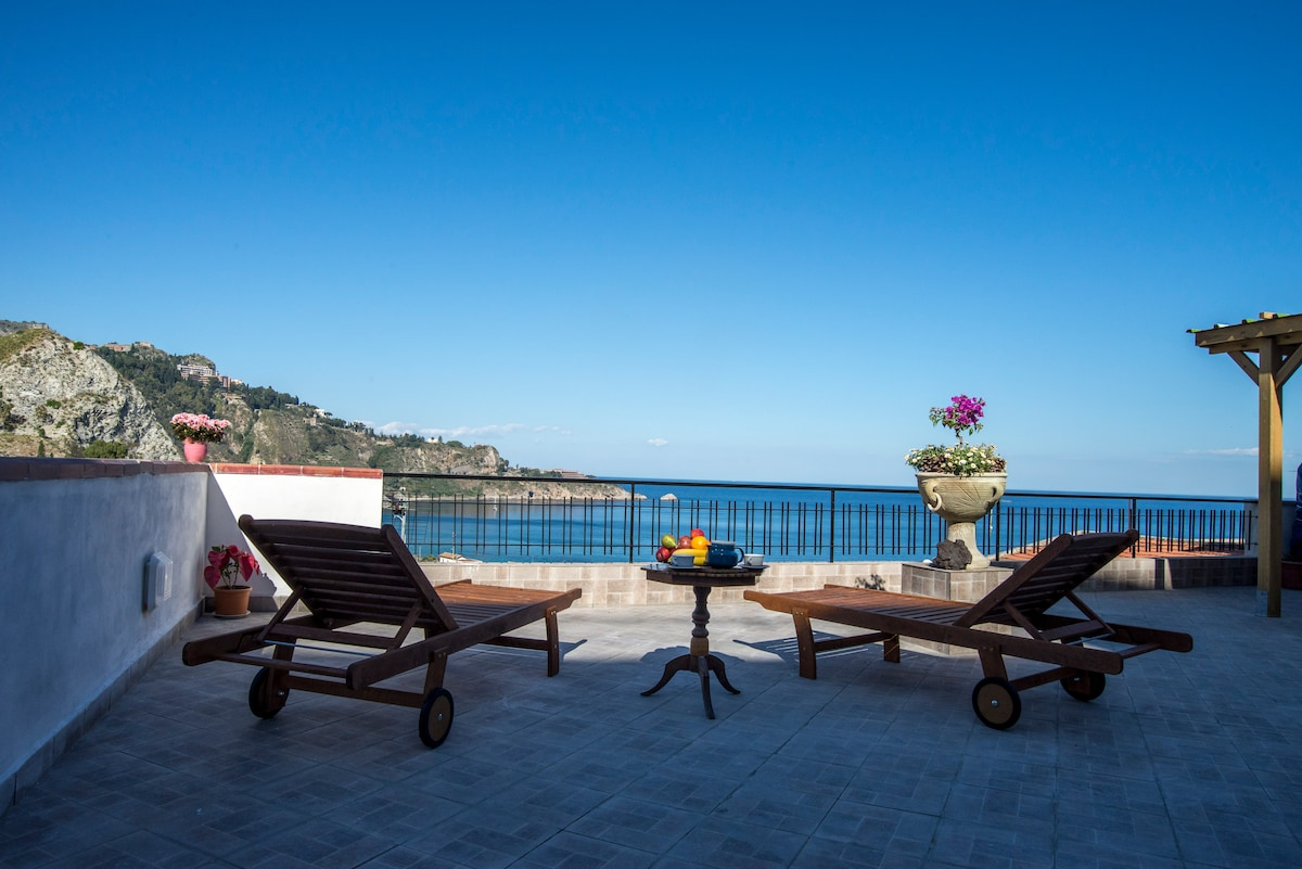 Best Panoramic Taormina Sea View