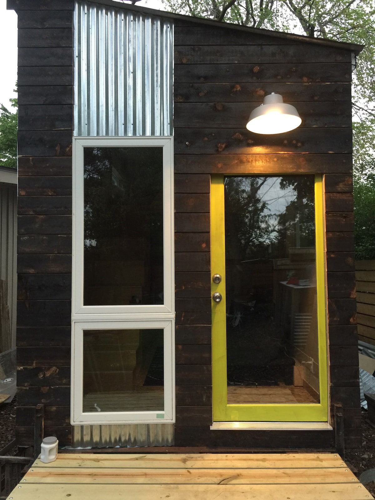 Modern Tiny House in Omaha Nebraska