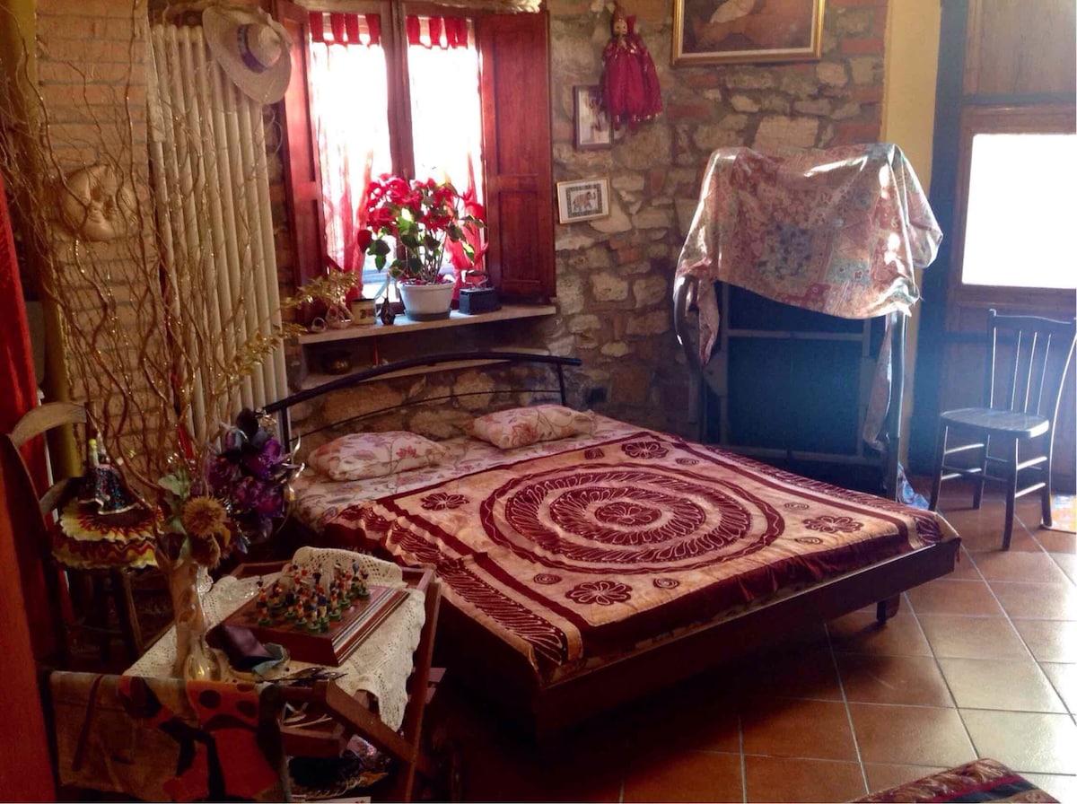 Tipica casa rustico stile Toscano.