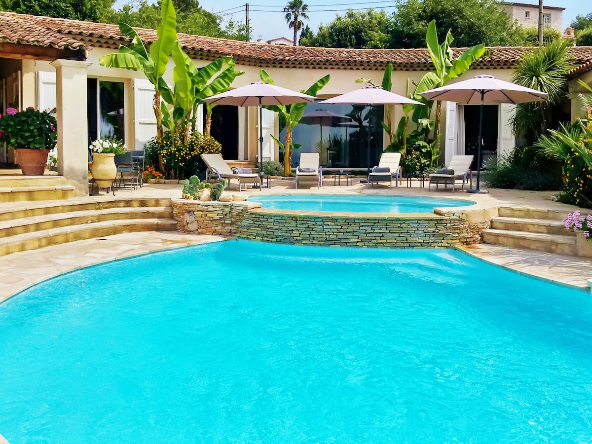 Provençal villa w/ pool & tennis