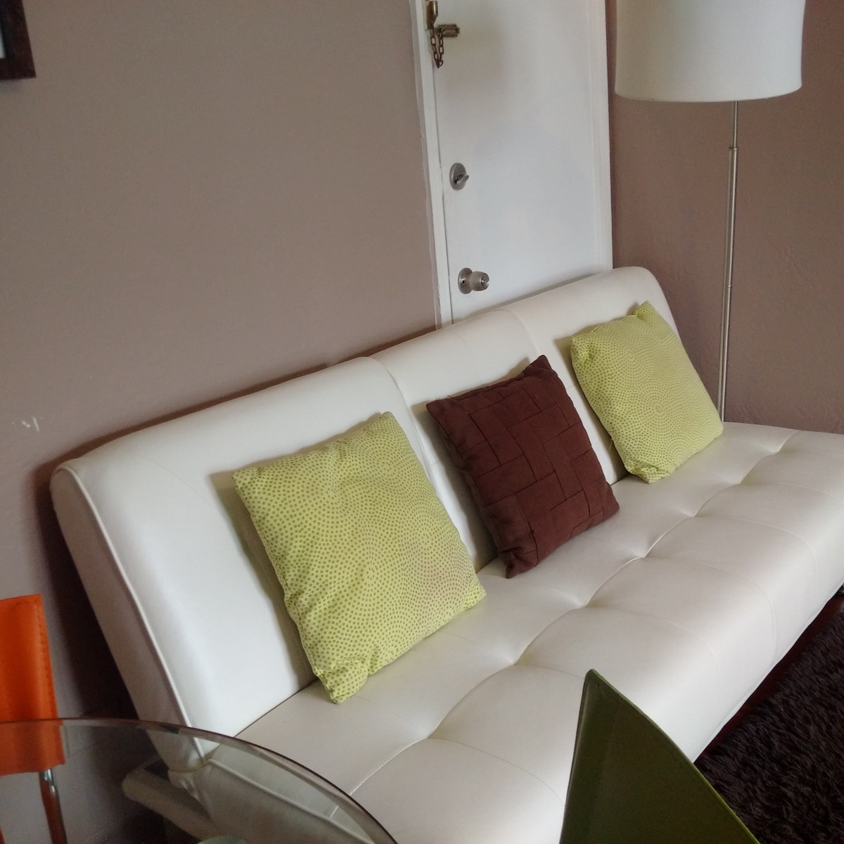 Extra sofa bed so you can bring your friends (or family!)