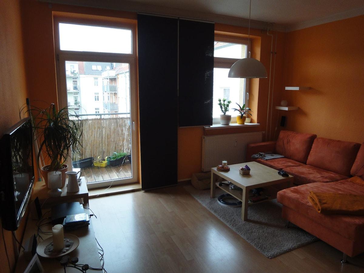 17 m² großes Zimmer + Balkon, KTV