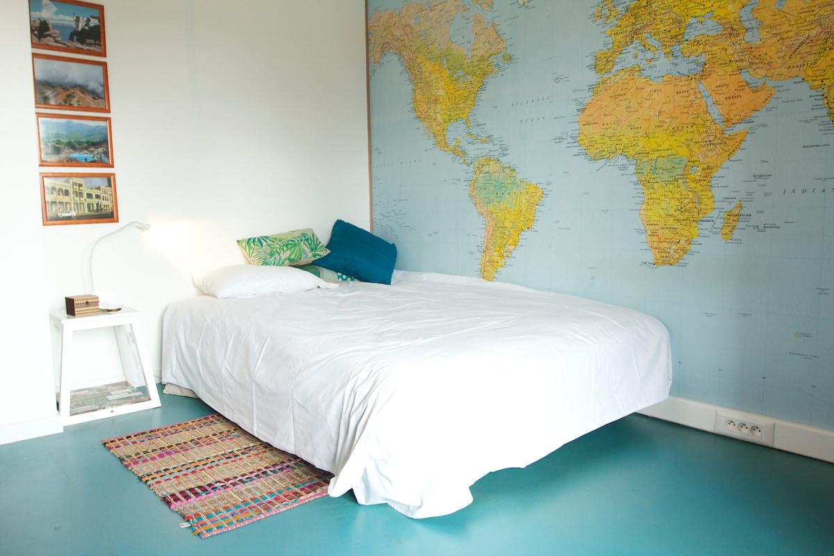 Chambre Globe-trotter avec balcon