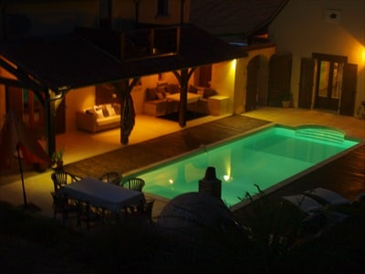 2 bedroom holiday gite with pool