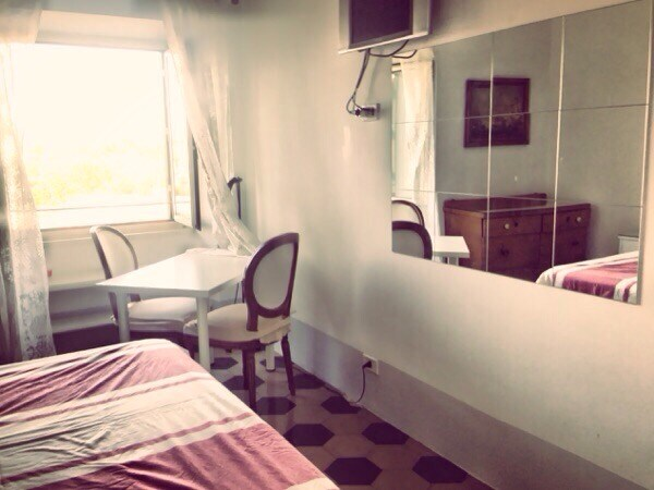 Trastevere romantic room with view