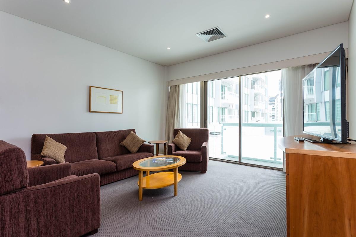 Whole apartment St Kilda Road
