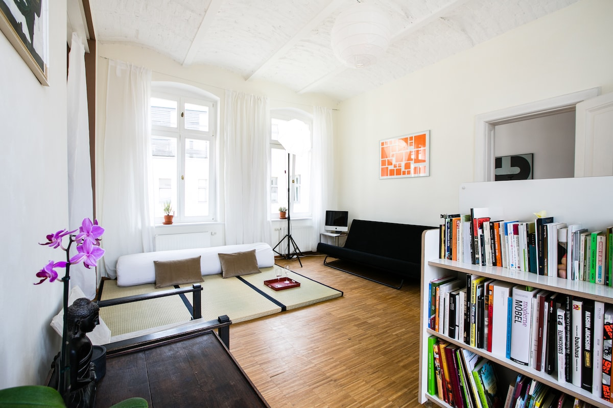 A Berlin Design Suite with Balcony