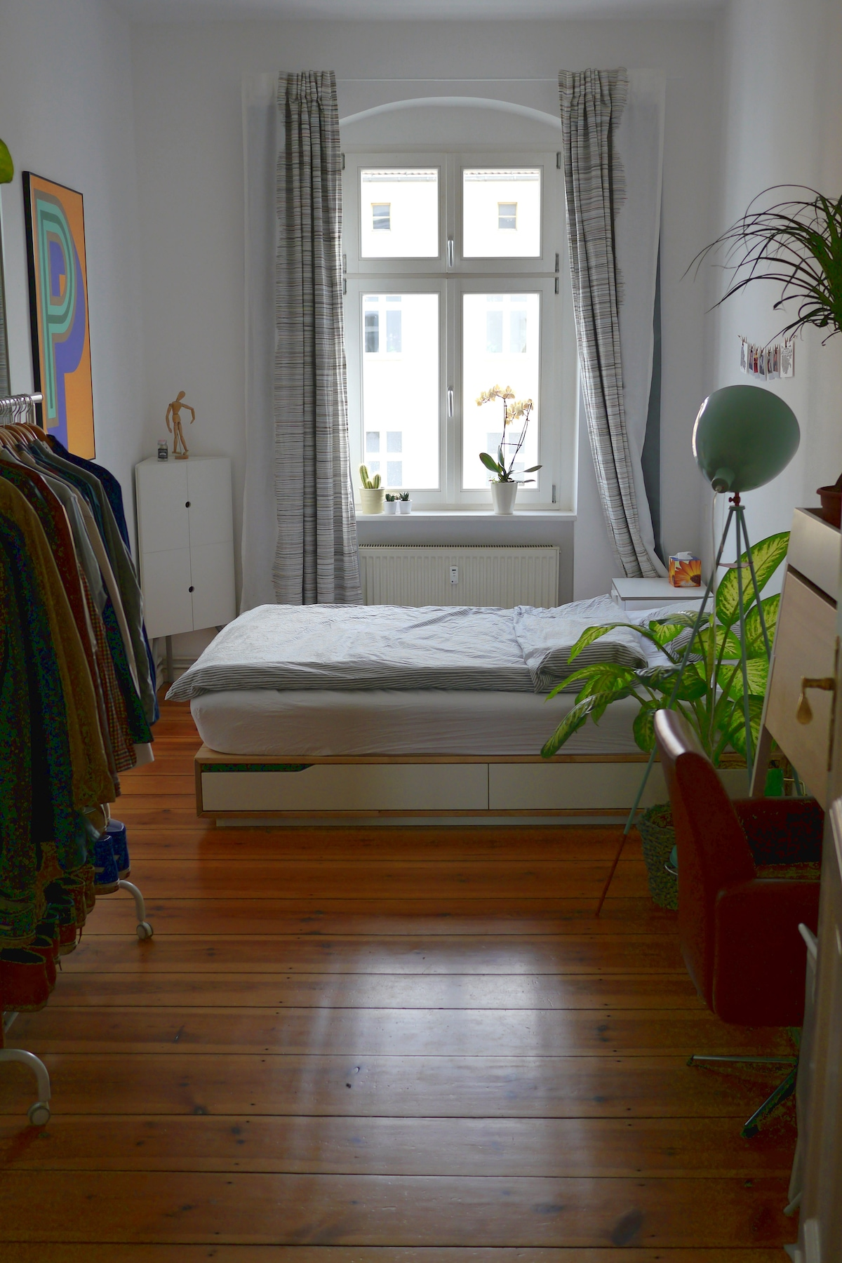 Cosy bedroom in central Berlin