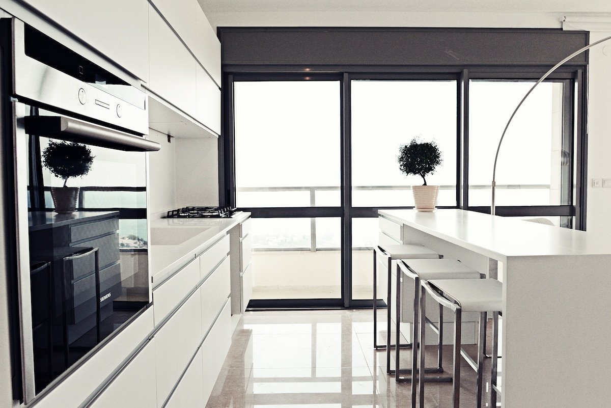 Kitchen fully equipped ,