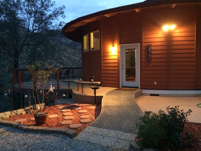 Sequoia View Luxury Yurt Roundhouse