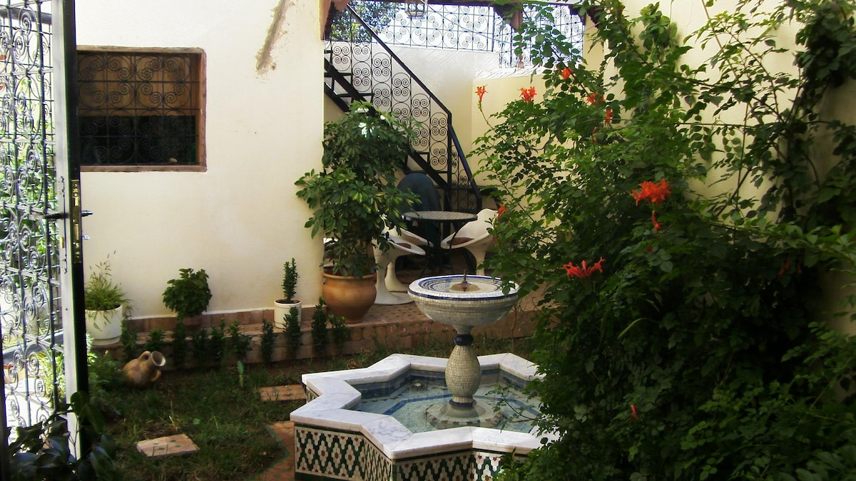 appartement meuble style petit riad