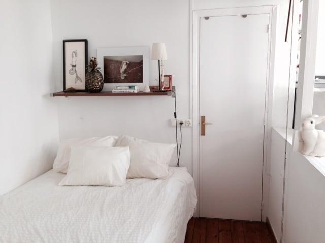 Two bedroom top floor apartment BCN